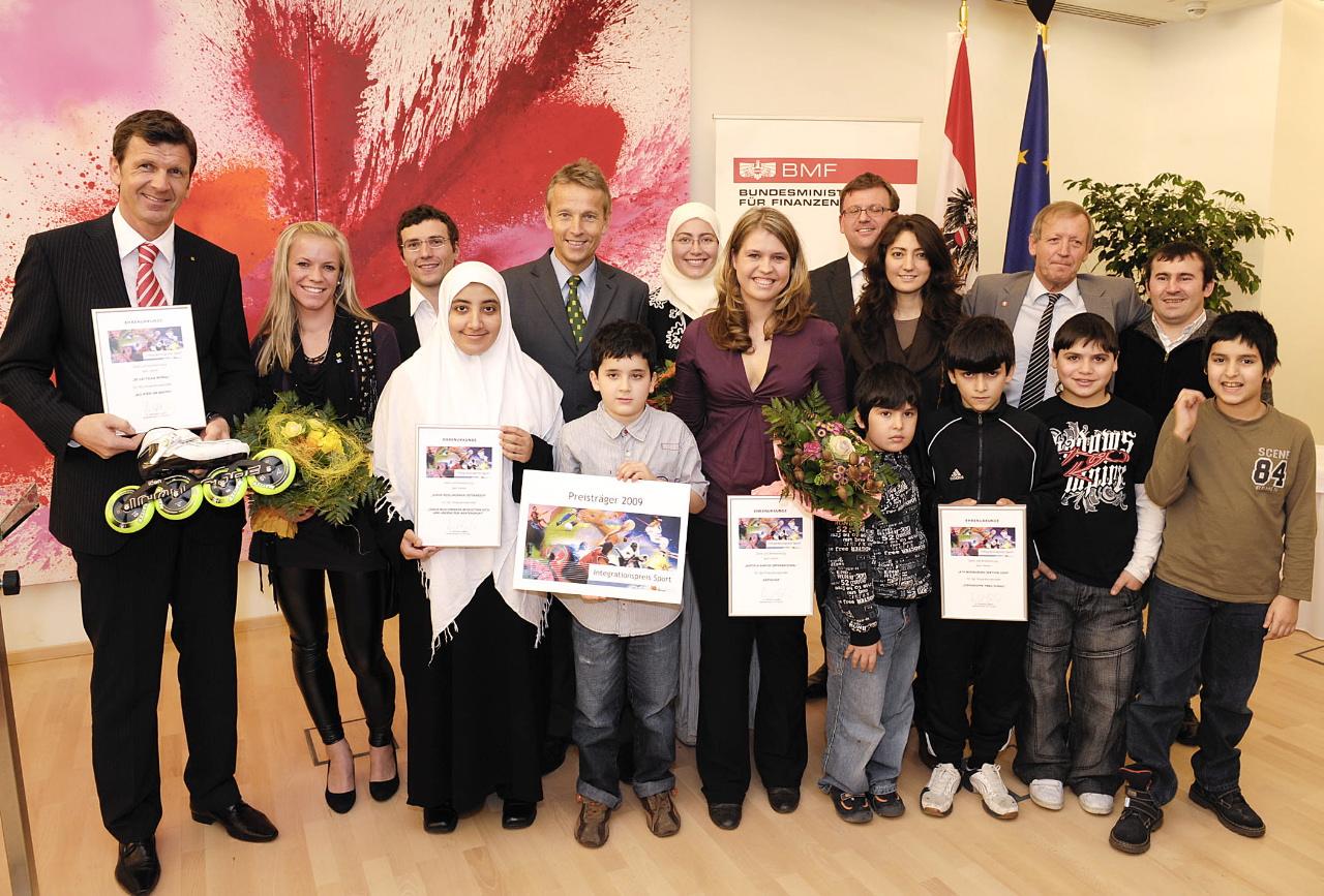 Sport ist ein wichitiger Schlüssel zur Integration: die Siegerprojekte des Integrationspreis Sport 2009 (C) HBF