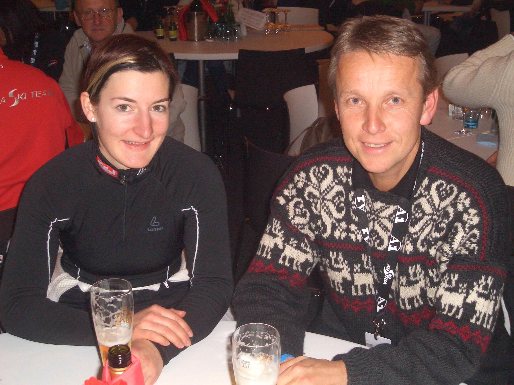 Mit der strahlenden Siegerin Kathrin Zettel (c) Alfred Mayer