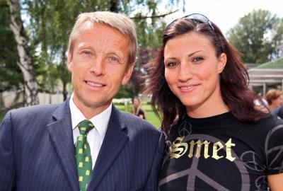 Erfolgreich für den österreichischen Spitzensport: die Olympia-Bronzemedaillen-Gewinnerin Mirna Jukic (C) GEPA pictures / Josef Bollwein