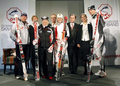 Fünf Tage vor Beginn der alpinen Ski-Renn-Saison wurde der WM-Winter mit der Präsentation der diesjährigen ÖSV-Outfits in Wien bereits inoffiziell eröffnet (C) GEPA pictures / Günter R. Artinger