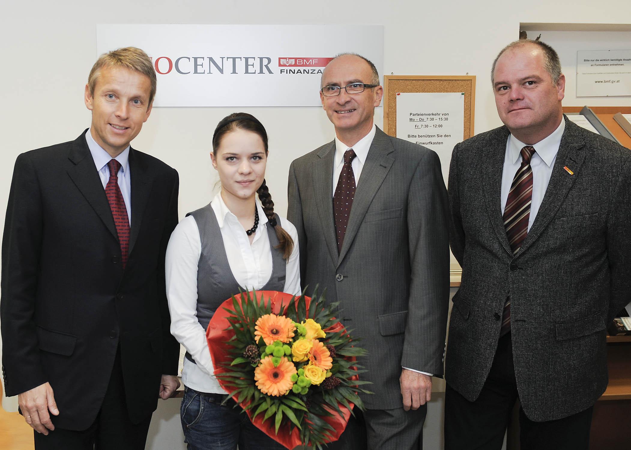 Zu Besuch bei den Finanzämtern Hartberg, Weiz und Graz (C) HBF