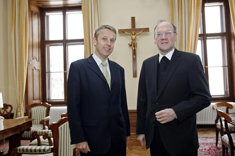 Zu Besuch bei Diözesanbischof Schwarz (C) Diözese Gurk-Klagenfurt