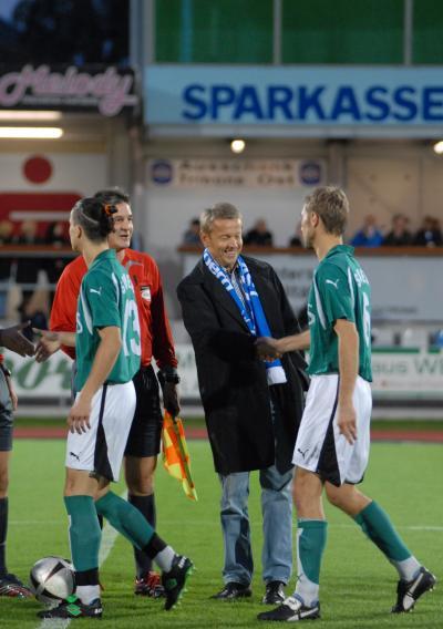 Im Derby der Regionalliga Mitte gegen den oststeirischen Kontrahenten Weiz setzten sich meine Hartberger mit 3:0 durch (C) Josef Summerer