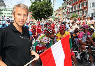 Berhard Kohl's Erfolg ist Beweis dass es im Radsport auch ohne Doping geht! (C) GEPA pictures / Markus Oberländer