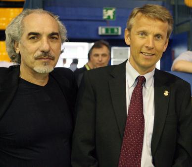Ich unterstütze die Bewerbung der Volleyballer für die EM 2011 in Östererich (C) GEPA pictures / Christian Ort