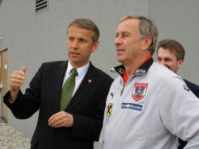 Mit der Förderung der Nachwuchsspieler hat Josef Hickersberger den richtigen Weg beschritten (C) StS Sport