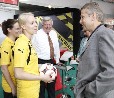 Zielsetzung ist es den Frauenanteil im österreichischen Fußball weiter zu erhöhen (C) HBF / Andreas Wenzel