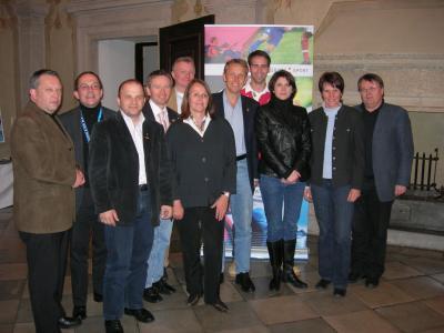Klausur der ÖVP-Sportsprecher in Graz - vor dem 1:1 Österreich-Ghana (C) StS Sport