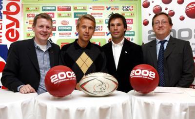 """""""7's Rugby Schülerturnier"""" mit Teilnehmern aus österreichischen Bundesländern und Ungarn ist bereits die zweite Aktivität des Österreichischen Rugbyverband im Rahmen der """"2008 - Österreich am Ball""""-Trophy (C) GEPA pictures / Philipp Schalber"""