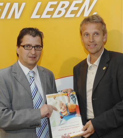 """BSO-Präsident Peter Wittmann beim """"Fit für Österreich-Forum 2008"""" (C) HBF / Pusch"""