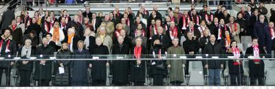 Die Ehrentribüne beim Fußball Länderspiel Österreich gegen die Niederlande (C) GEPA pictures / Günter Artinger