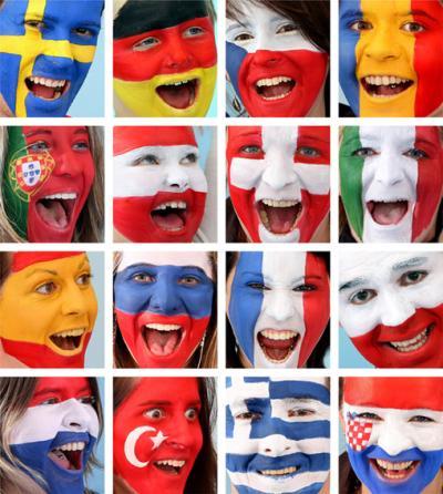 Die Gesichter der EURO-Nationen (C) GEPA pictures/ Franz Pammer