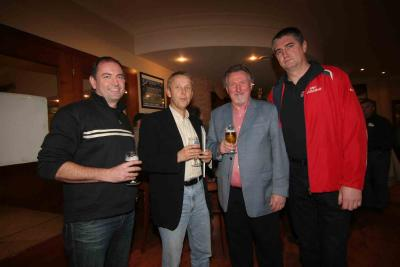 mit Dr. Wolfgang Astl, Bürgermeister Peter Vadasz und Ing. Reinhard Koch (C) UBC Güssing Knights