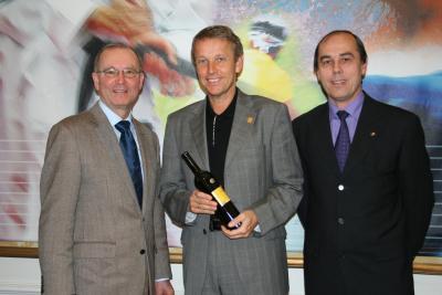 Gespräch mit LAbg. Werner Gradwohl und Präsident Ludwig Kocsis vom ÖSKB (C) StS Sport