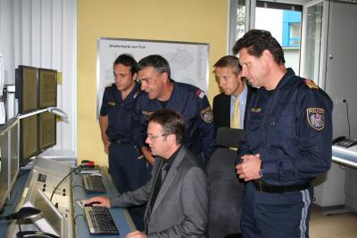 Blick hinter die Kulissen mit Innenminister Günther Platter und Führungskräften des Landespolizeikommandos, der Sicherheits- und Polizeidirektion (C) StS Sport