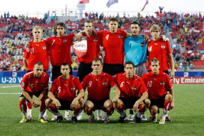 Auf dem Weg zum größten österreichischen Erfolg im Fußball seit mehr als 50 Jahren - die U20-Fußball-Nationalmannschaft (C) GEPA Pictures