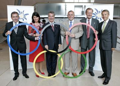 Verabschiedung der Olympia-Delagation (C) HBF / Peter Lechner