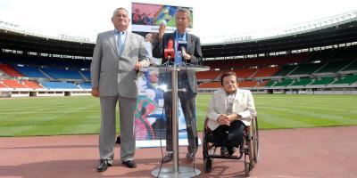 Pressekonferenz zum Thema Barrierefreiheit in den Europameisterschaftsstadien (C) Andy Wenzel