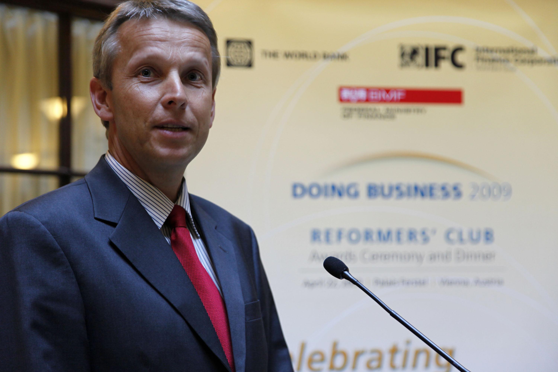 """Bei der Verleihung des """"Doing Business Awards"""" der Weltbank (C) Weltbank"""