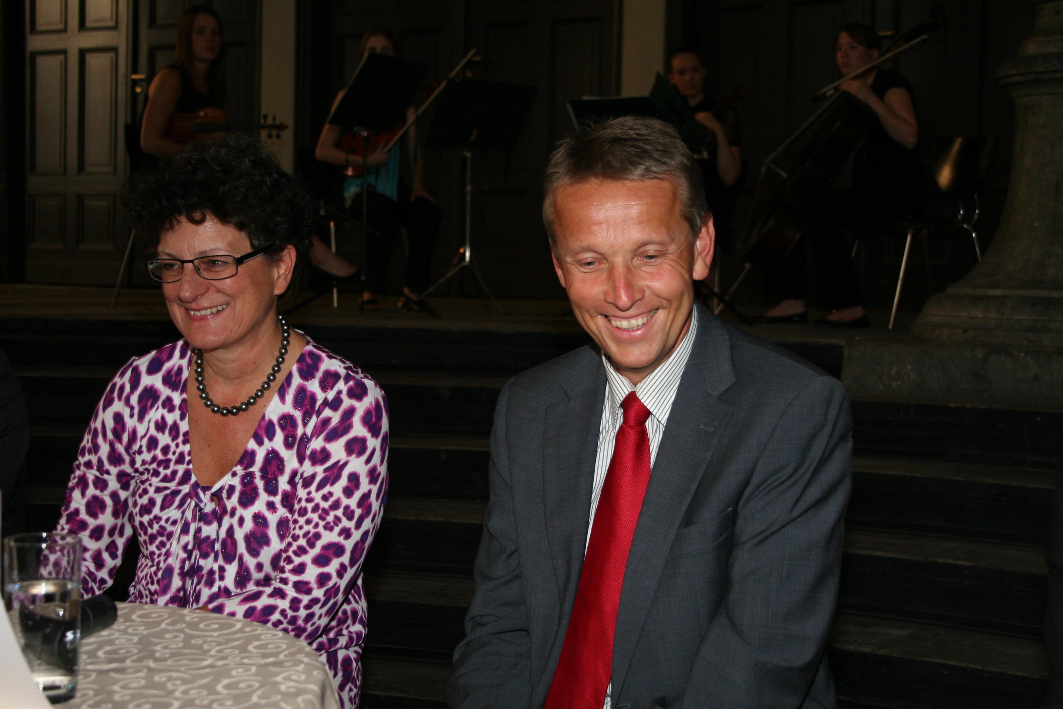 Mit Vorstandsdirektorin Regina Prehofer von der BAWAG/PSK (C) frauWT