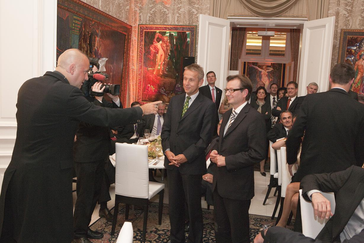 Beim President's dinner der Amerikanischen Handelskammer (C) UPC