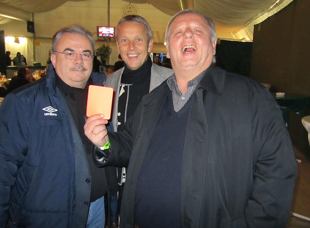 Mit Hans Fedlund Martin Pucher beim Spiel Sturm gegen Mattersburg (C) Büro StS