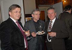 Agrarier unter sich: Bauernbund-Präsident Fritz Grillitsch, Ex-Minister Wilhelm Molterer und Ex-Landesrat Erich Pöltl (C) Alfons Kowatsch