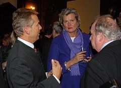 Mit Ursula Passnik und Fritz Neugebauer (C) Alfons Kowatsch