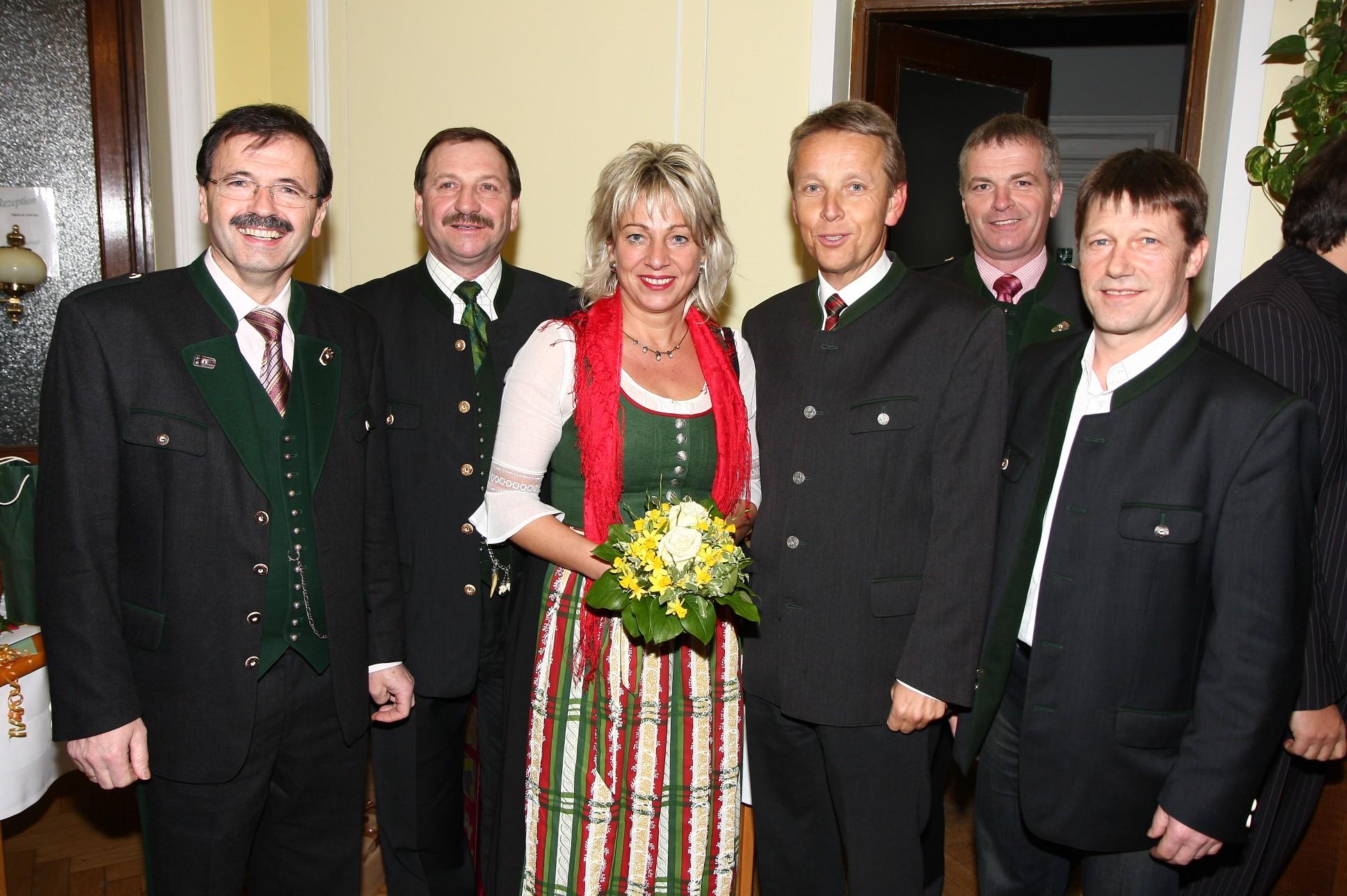 Mit den Bürgermeistern aus dem Bezirk Hartberg (C) Büro StS