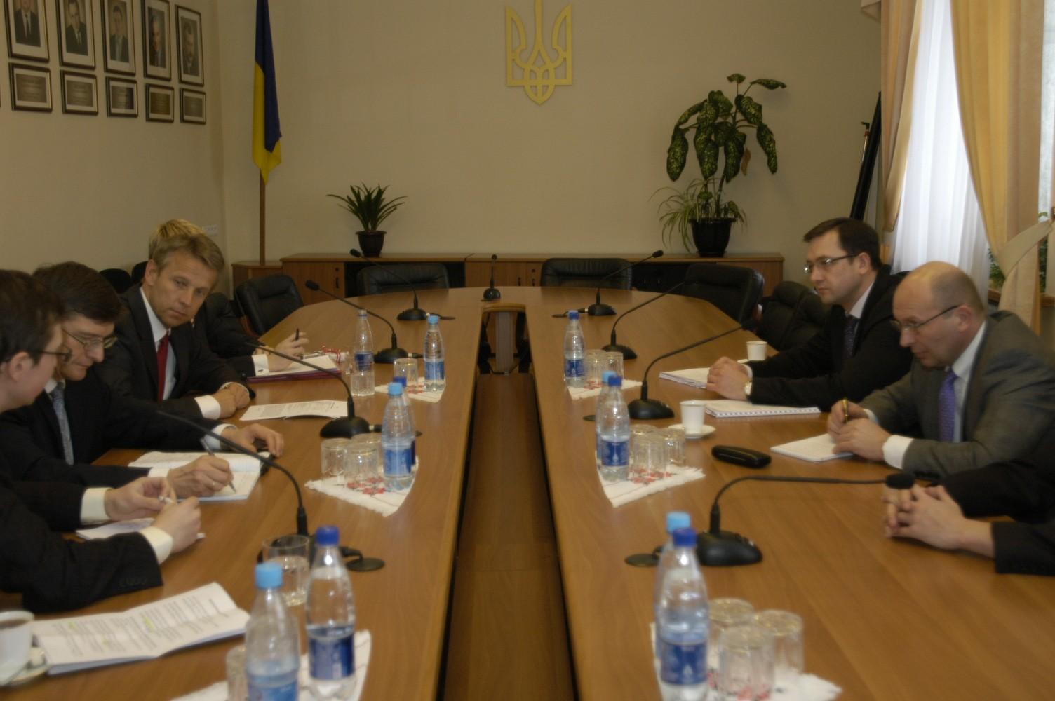 Bilaterale Gespräche im ukrainischen Finanzministerium (C) Finanzministerium Ukraine