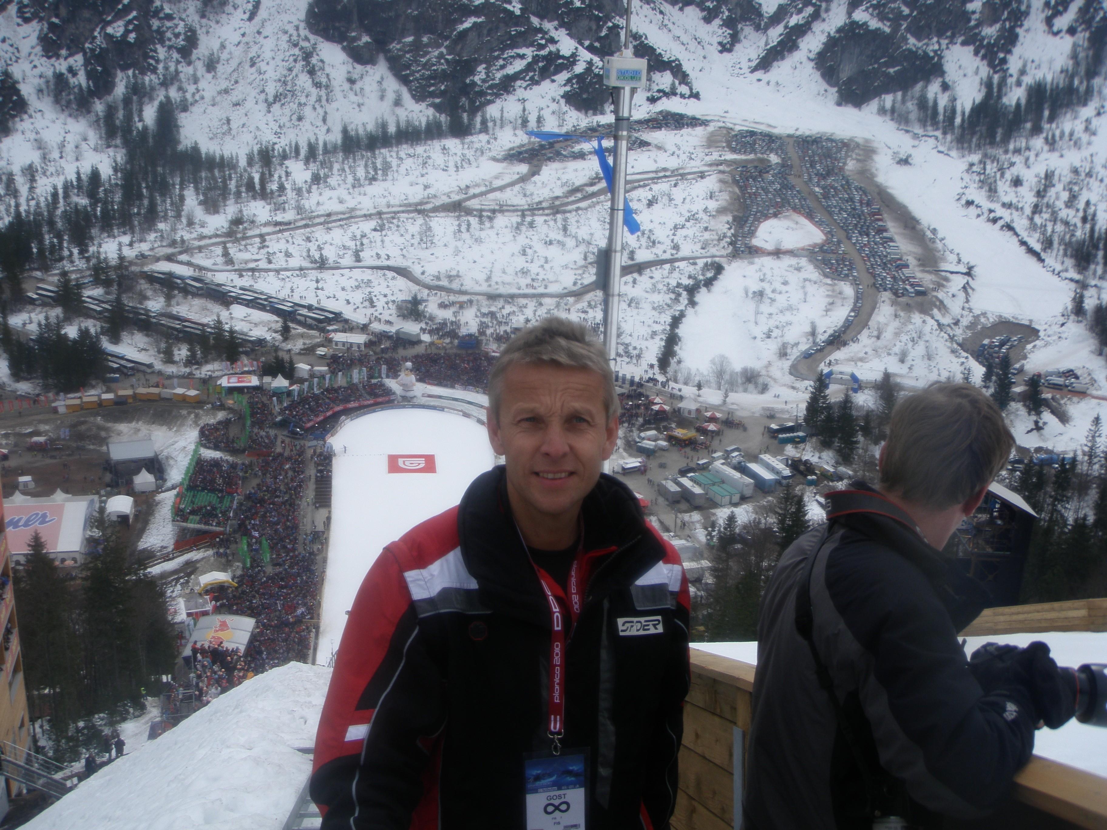 Beeindruckende Kulisse: die Skiflugschanze in Planica (C) Dieter Mörtl