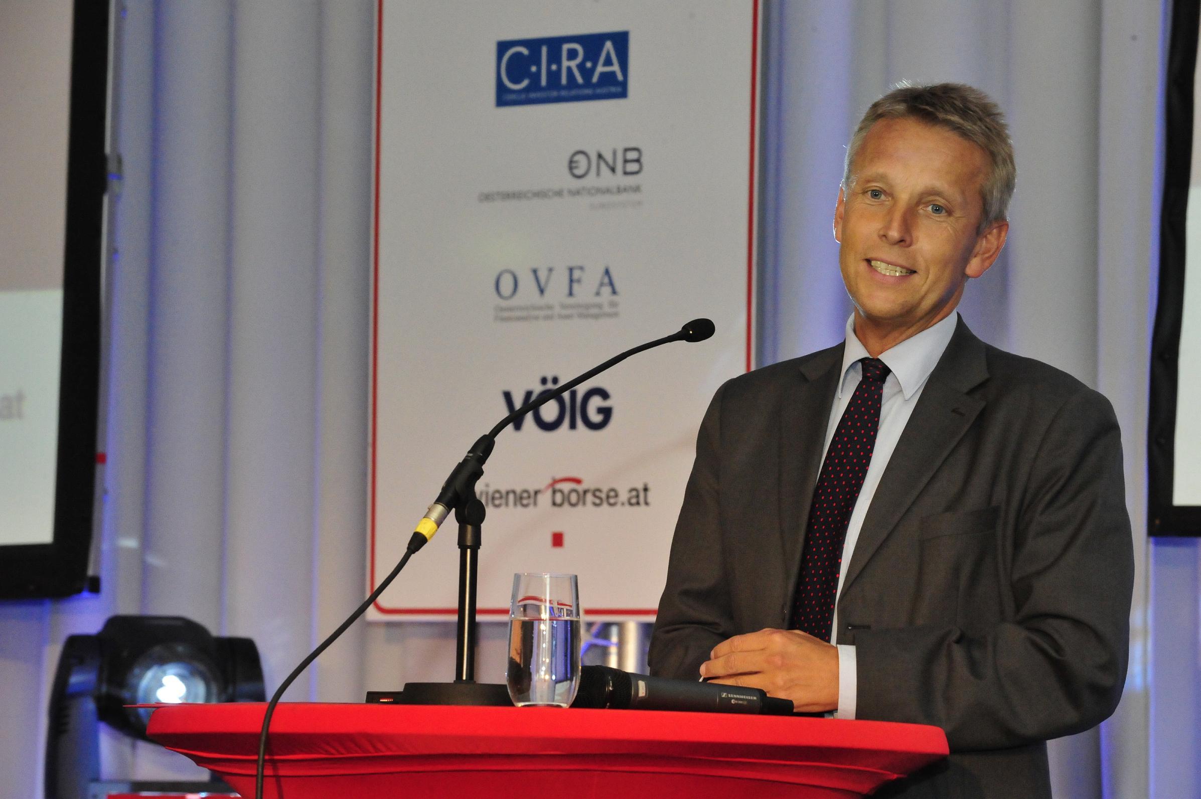Bei der Verleihung des Wiener Börse Preises (C) Philip Martin Rusch