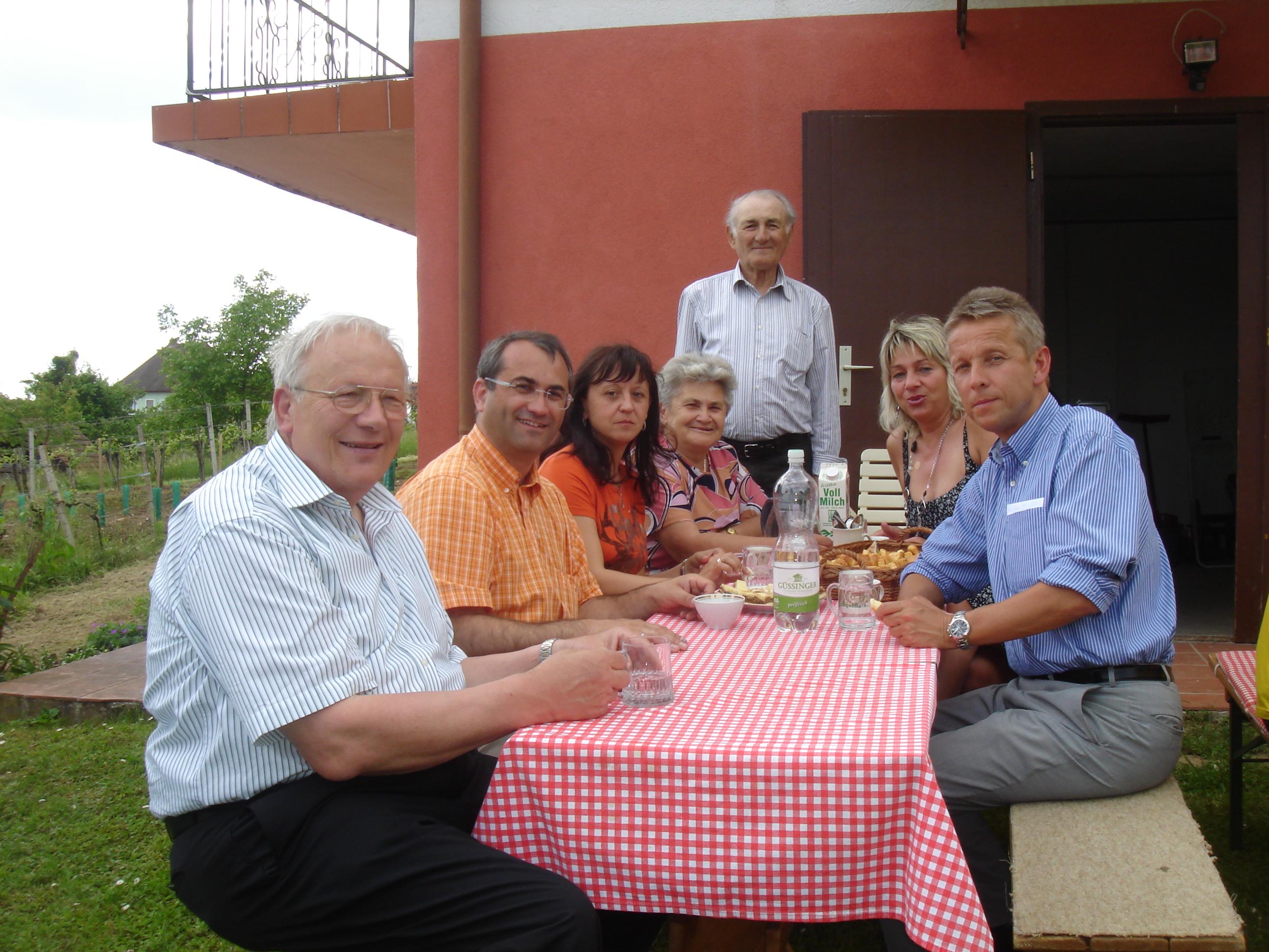 Wahlkampfeinsatz im burgenländischen Csaterberg (C) Norbert Sulyok