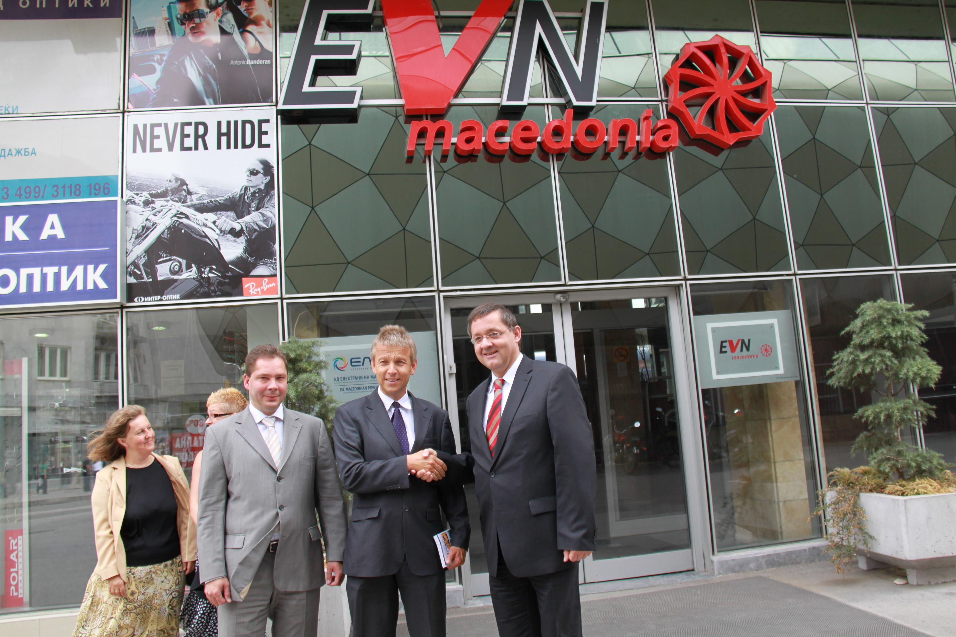 Beim Besuch der Niederlassung der niederösterreichischen EVN (C) Sven Pöllauer