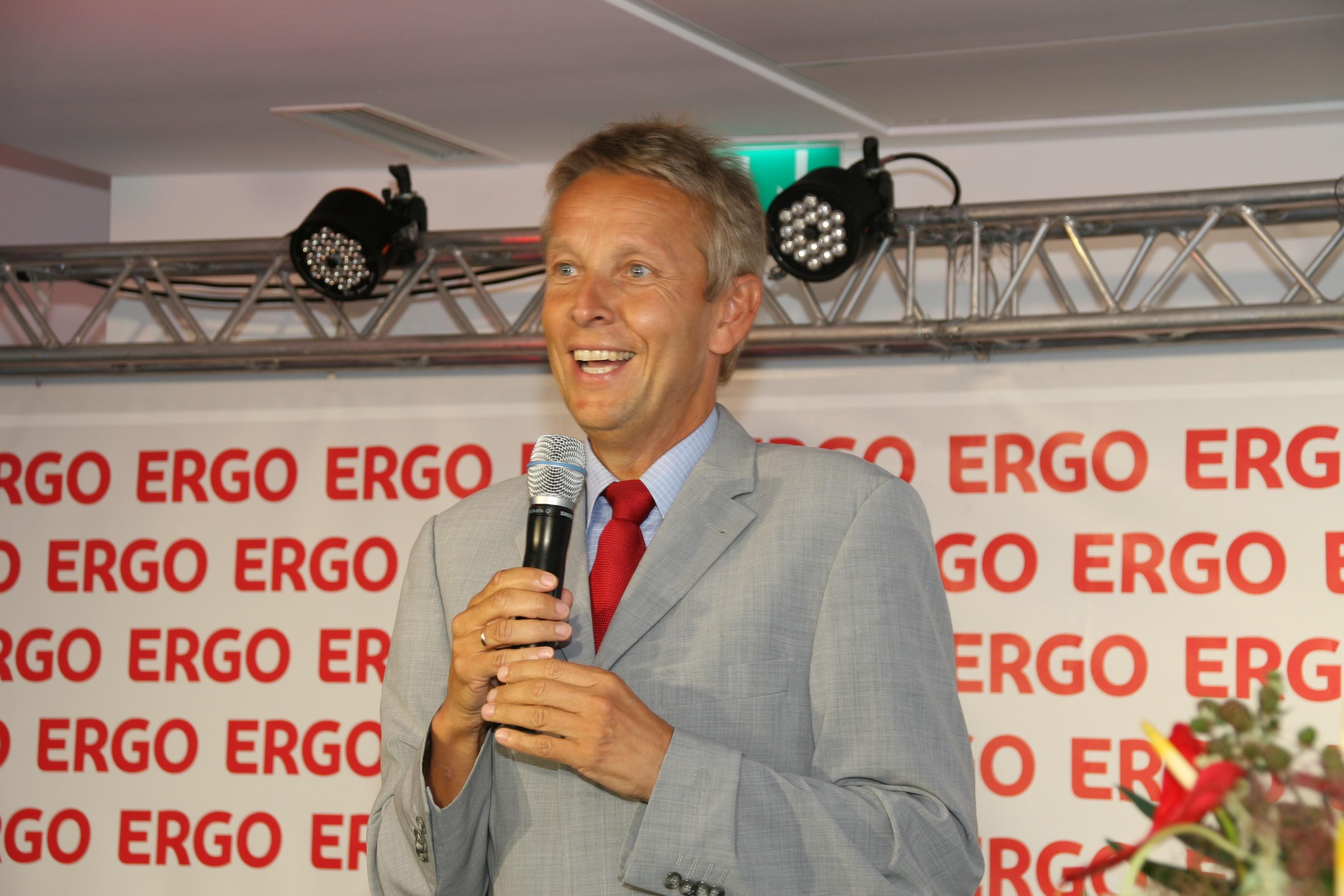 Bei der Eröffnung der ERGO-Osteuropa-Zentrale (C) Romana Pranger