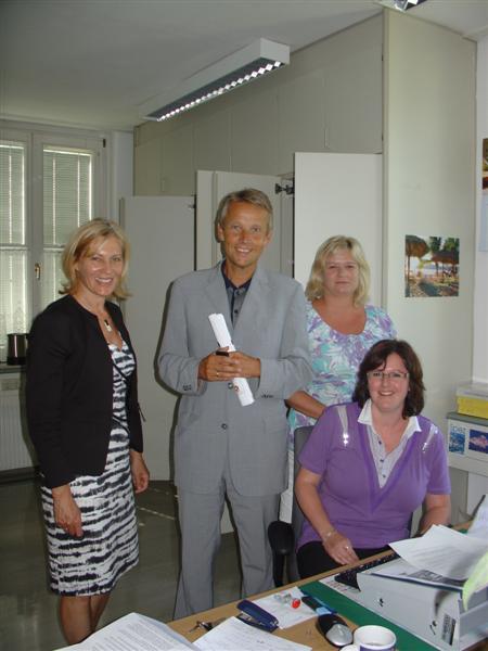 MIt Vorständin Michaela Buchsteiner im Finanzamt St. Johann (C) FA St. Johann Tamsweg Zell am See