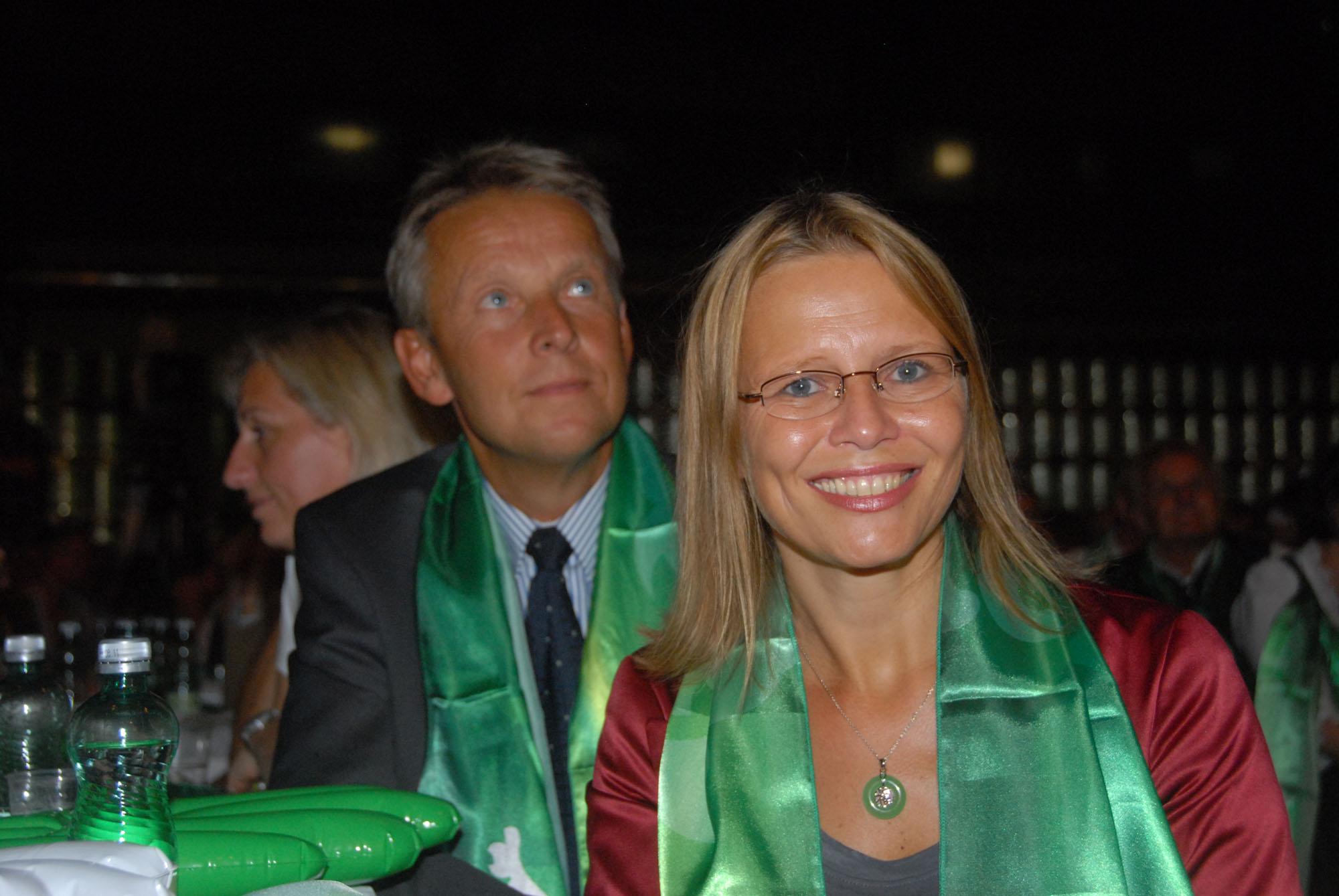 Mit Wissenschaftsministerin Beatrix Karl beim Wahlkampfauftakt in Leoben (C) Steirische Volkspartei