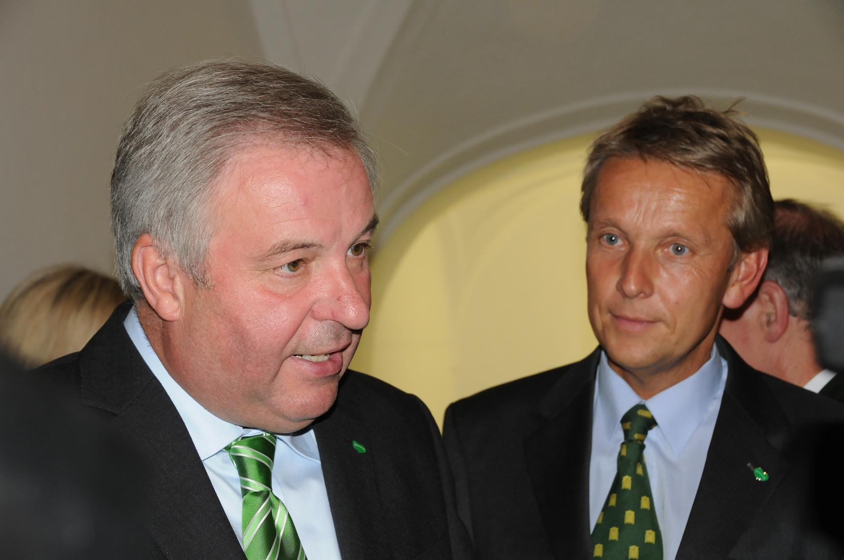 Mit Hermann Schützenhöfer (C) Andreas Zenz