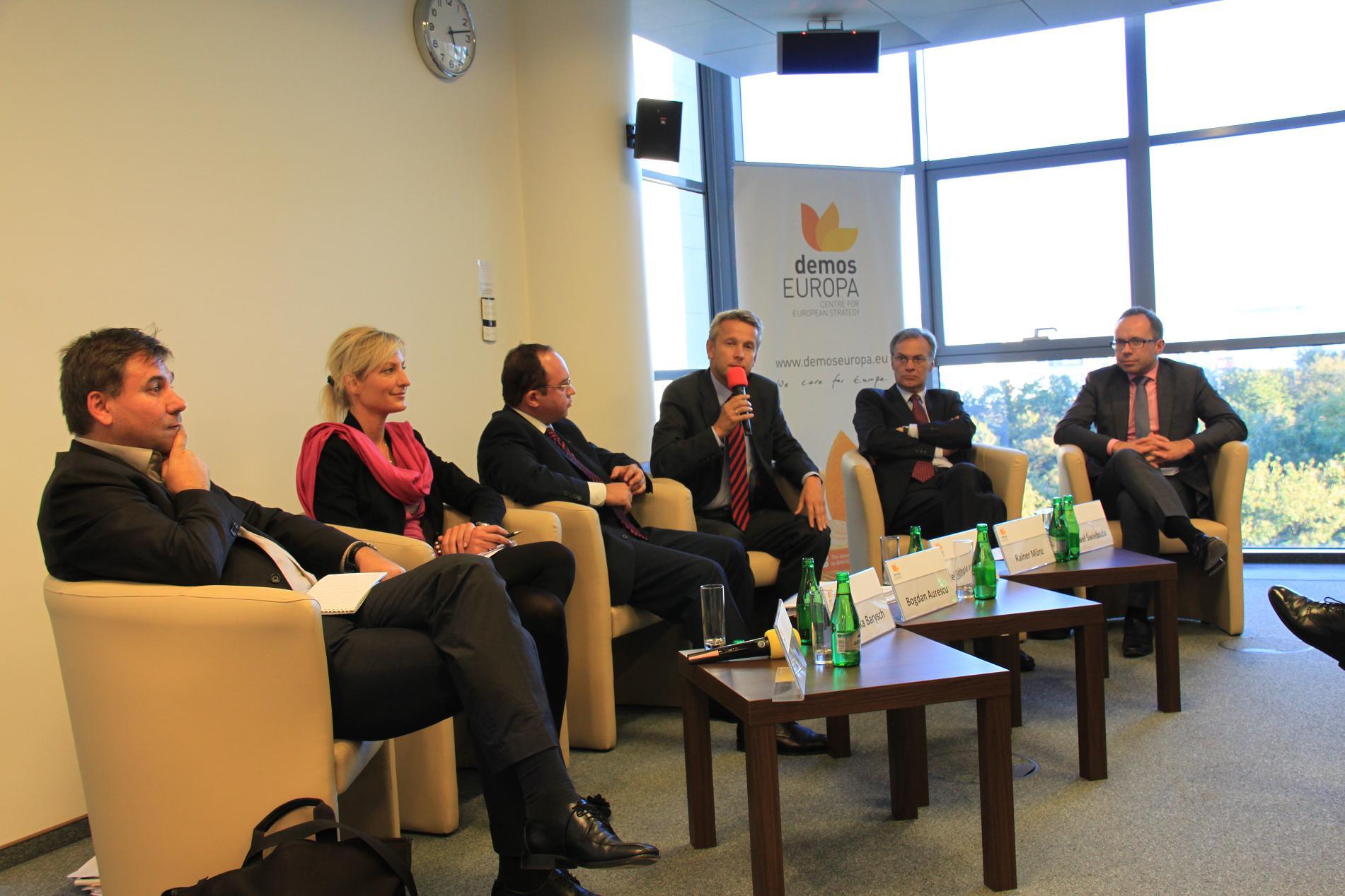 Bei der Schwarzmeer-Konferenz (C) Sven Pöllauer