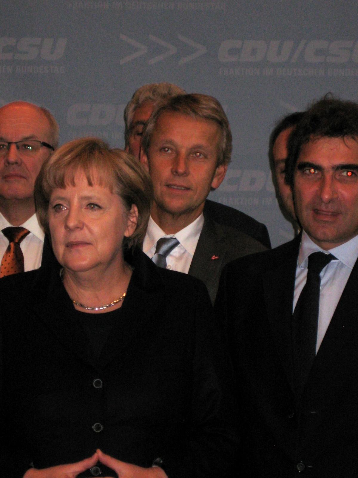 Beim Club 27 Treffen in Berlin mit Dr. Angelika Merkel