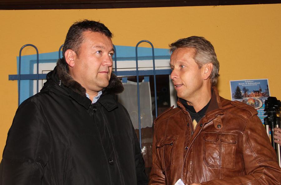 Im Gespräch mit Obmann Bernhard Loidl