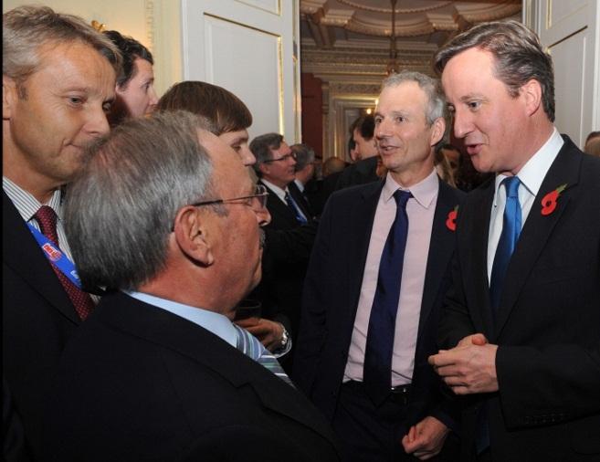 Im Gespräch mit David Cameron