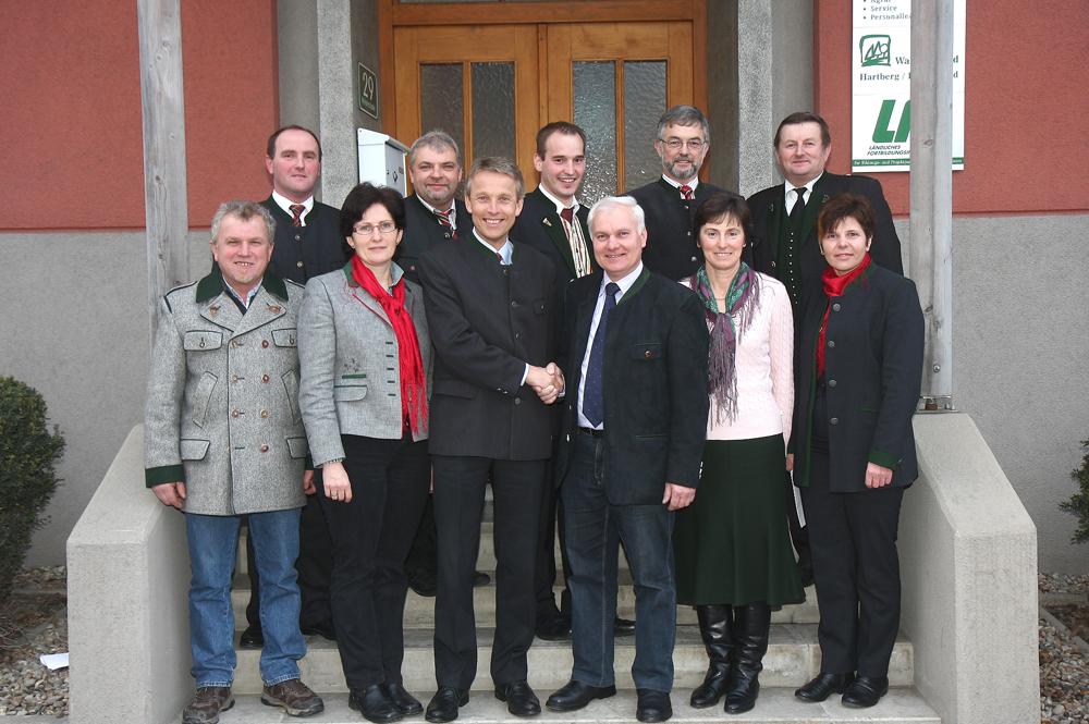 Das erfolgreiche Team des Bauernbundes Hartberg (C) Büro StS
