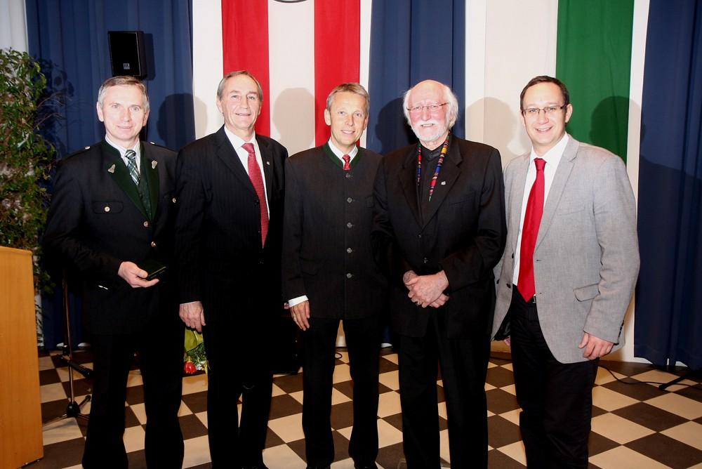 Mit Josef Lind, Karl Pack, Sigi Breiner und Jochen Pack (C) Büro StS