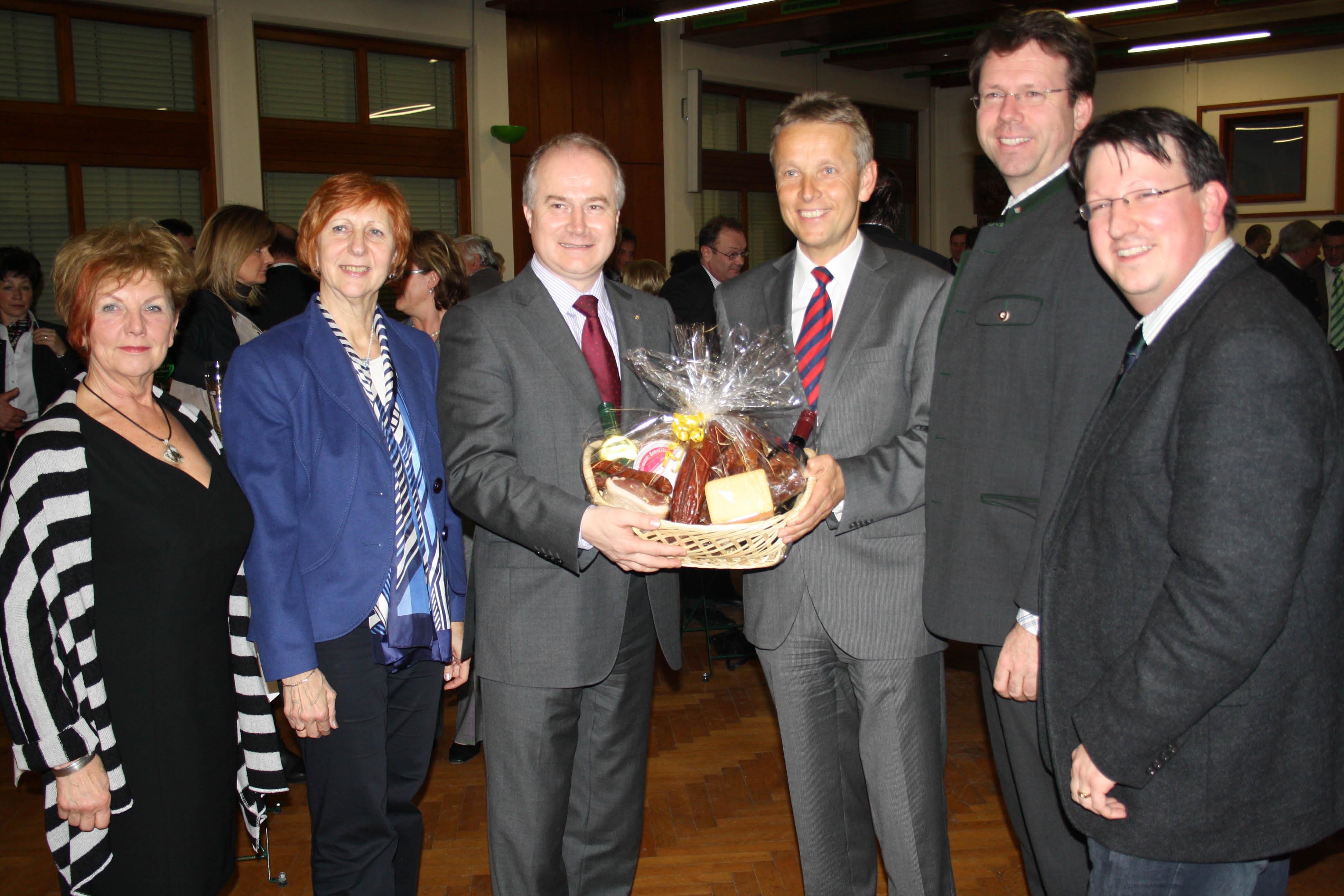 Beim Valentinsempfang der Wirtschaftskammer Bruck an der Mur (C) ÖVP Steiermark