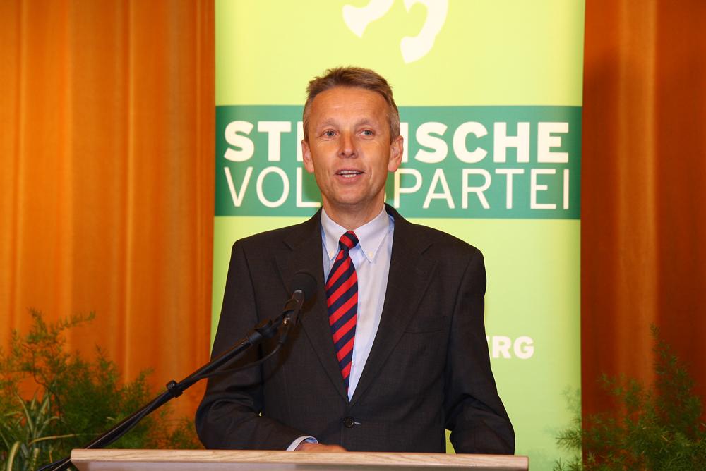 Beim Bezirksparteitag in Bad Waltersdorf (C) Büro StS