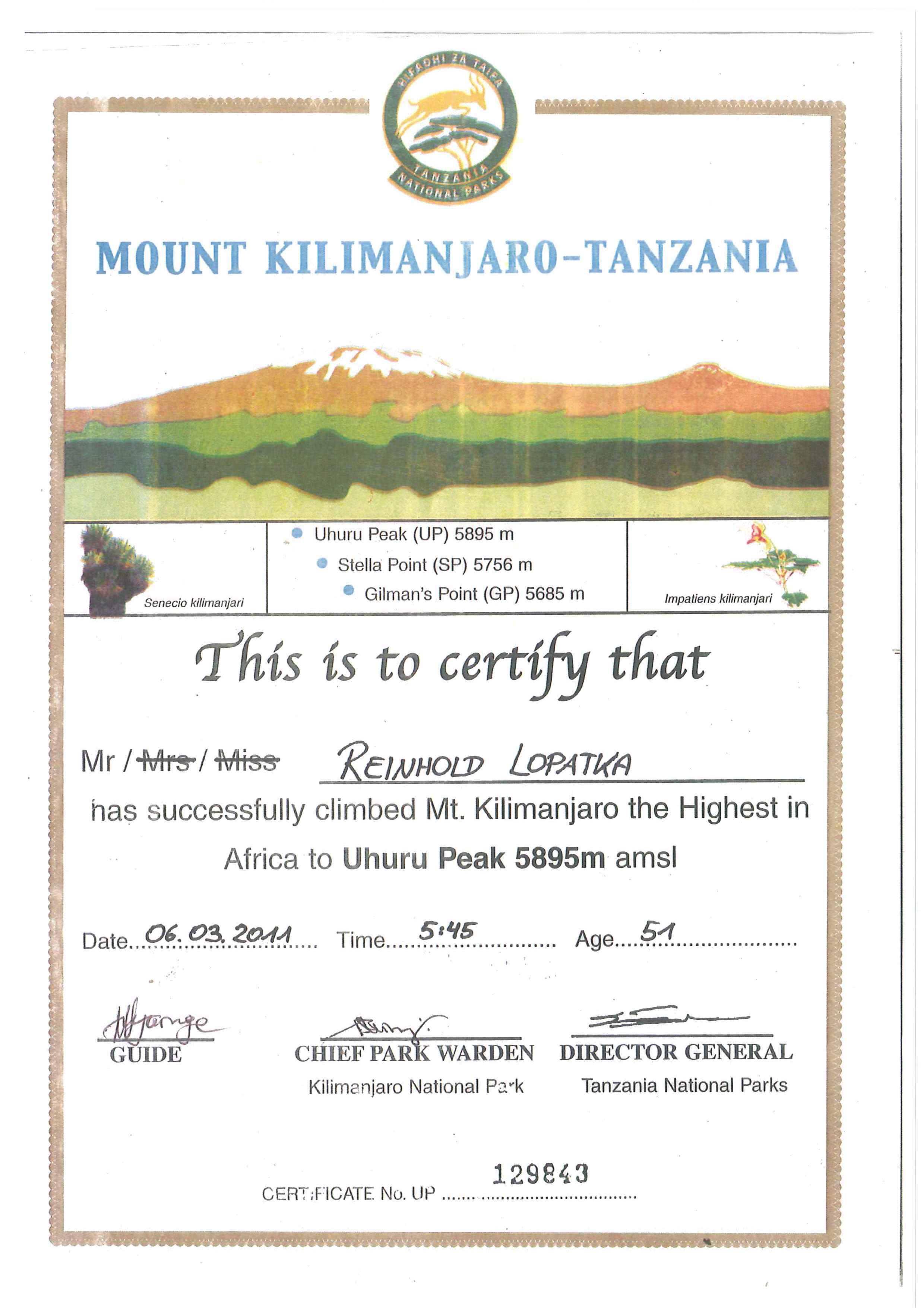 Mein Zertifikat (C) privat