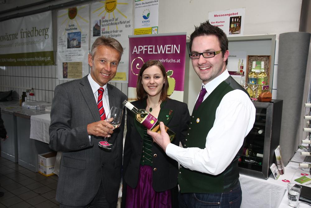 Apfelwein von Ingrid und Ing. Christoph Zehrfuchs, aus Kroisbach bei Dechantskirchen (C) Büro StS