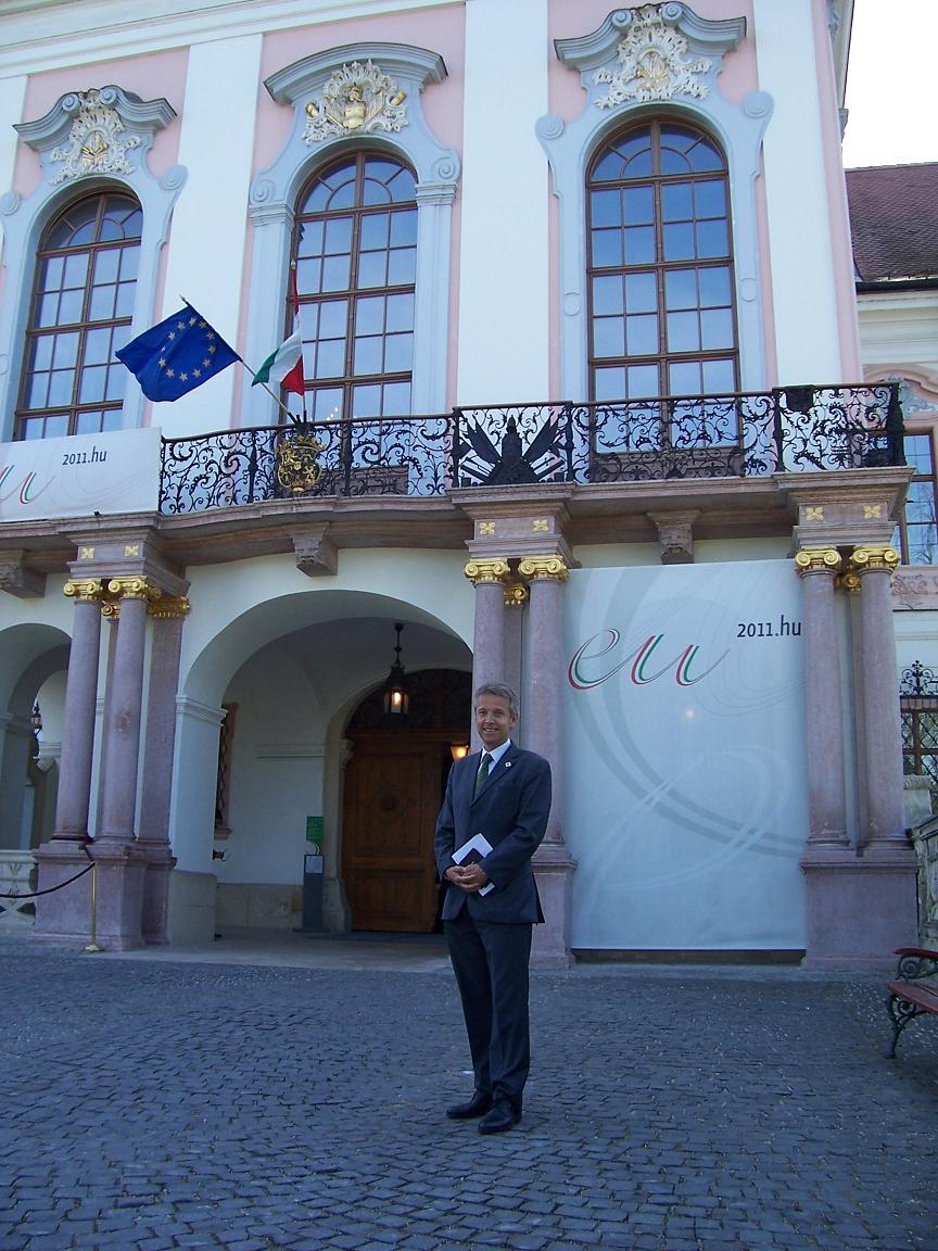 Beim ECOFIN im ungarischen Gödöllö (C) StS