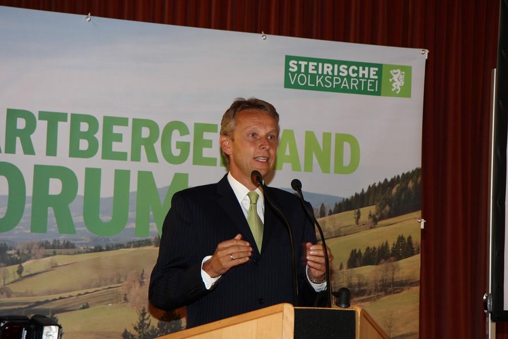 """Die erste Veranstaltung des """"Forums Hartbergerland"""" (C) Büro StS"""